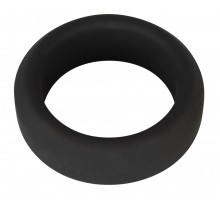 Чёрное эрекционное кольцо Penisring