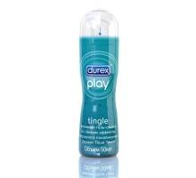"""Интимная гель-смазка DUREX Play Tingle с эффектом """"морозного покалывания - 50 мл."""