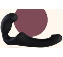 Безремневой черный страпон Share